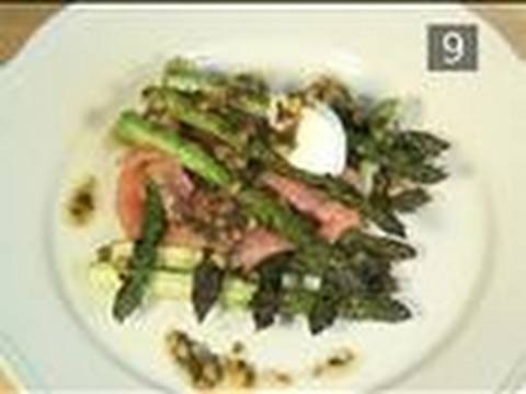 How To Make Asparagus With Smoked Salmon