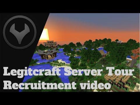 Legitcraft Server Tour - Recruitment video