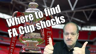 Betfair football trading - FA Cup and where to find the 'shocks'