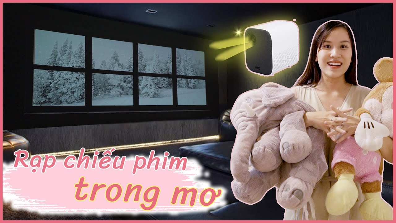 RẠP CHIẾU PHIM TRONG MƠ 30 CỦ 🎀🧸| Phòng ngủ Tour 🛏
