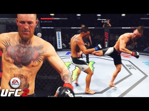 Conor McGregor Will Make You FALL Slowly! EA Sports UFC 2 Ga