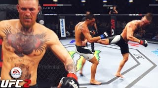 Conor McGregor Will Make You FALL Slowly! EA Sports UFC 2 Gameplay