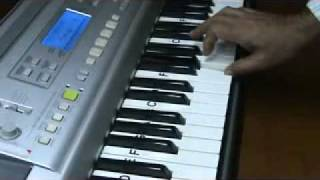 mere toote hue dil se... keyboard video by mmv