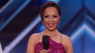 Quin  Misha 71 Year Old SHOCKING Age Defying Dance Moves!   Americas Got Talent 2018