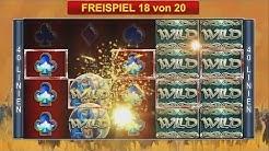 Bally Wulff Online - 40 Thieves - Mehrfach Freispiele auf 1€ und 2€ Einsatz BIG WIN - Echtgeld