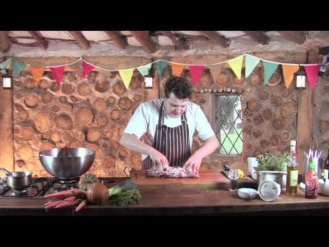 Jimmy's Farm Recipes - Yoghurt & Mint Marinated Leg Of Lamb