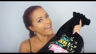 How to Style your Curls using Novex Mystic Black
