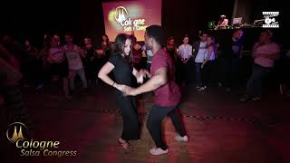 Lionel & Paolina - social dancing @ Cologne Salsa Congress 2019