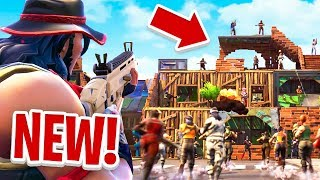 *NEW* EPIC 20 PLAYER TEAM MODE in Fortnite Battle Royale