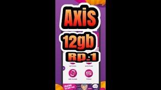 Terbaru Axis Murah 12gb rp.1, buruan ambil paketnya