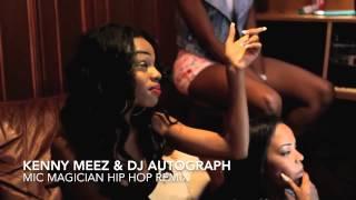 WARD 21 MIC MAGICIAN KENNY MEEZ & DJ AUTOGRAPH HIP HOP REMIX