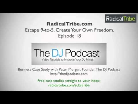 How To Start a Business Doing What You Love - Interview with DJ Peter Morgan of TheDJPodcast.com