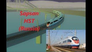 Roblox || Terminal Railways Sapsan HST (Russia) (With music too press B )