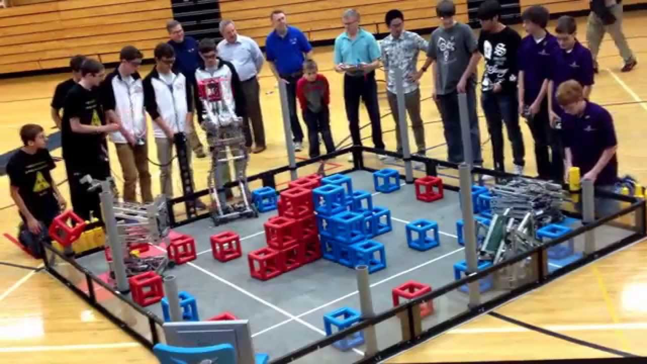 Vex Robotic Competition Skyrise Xavier WI, FINALS(9807B ...
