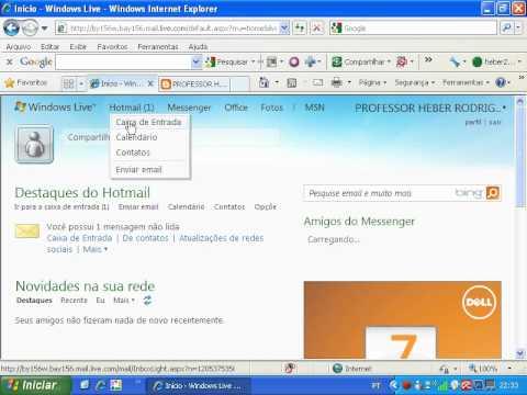 como criar email hotmail - photo #17