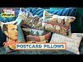 Vintage Postcard Pillows
