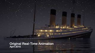 Evolution of the TITANIC Real-Time Sinking