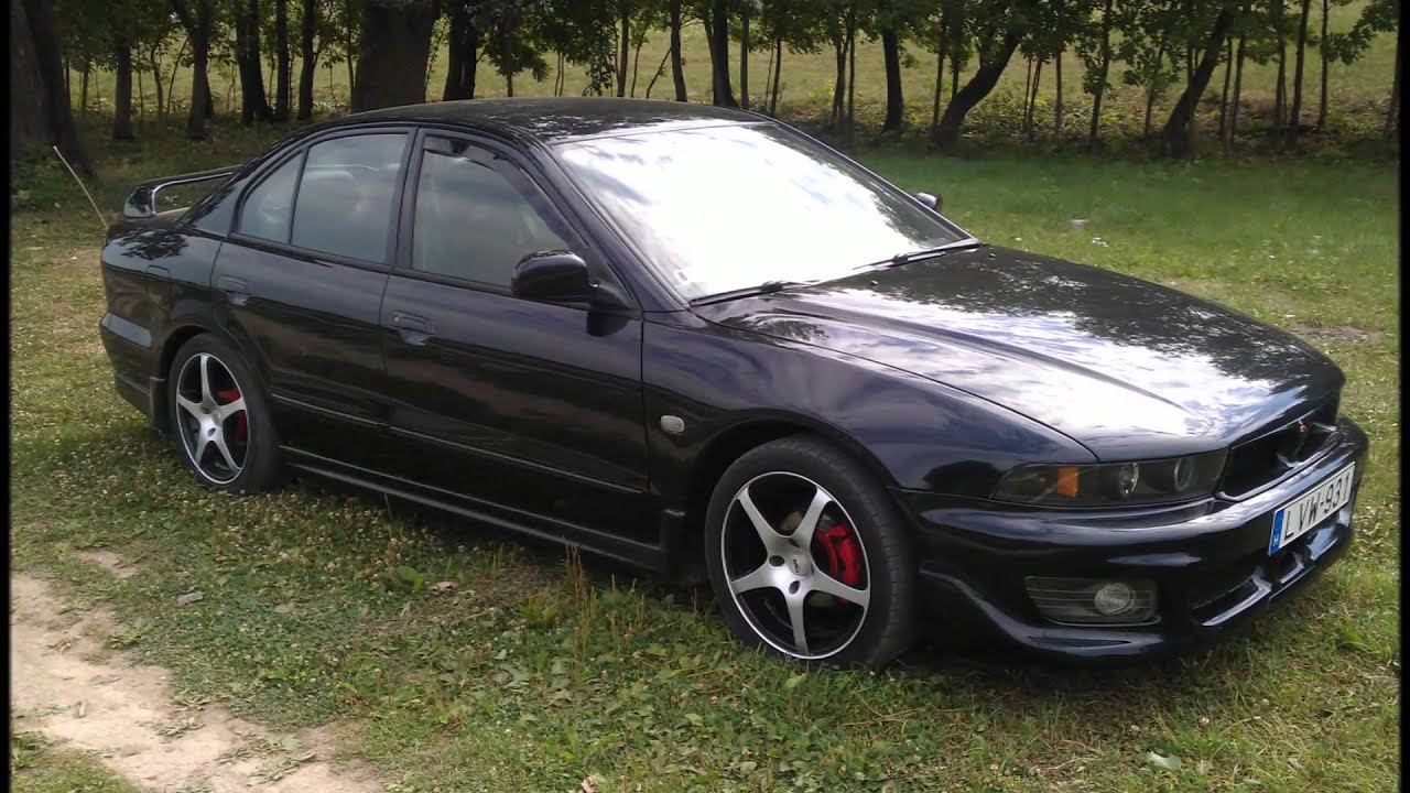 mitsubishi galant sport shark youtube