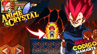 ANIME CRYSTAL ! +4 MEGA CÓDIGO E SUPER SAIYAJIN BLUE FULL DIAMANTE AZUL E VERDE
