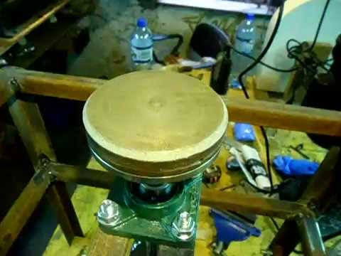 DIY 1-  grinding/polishing machine for gemstones.