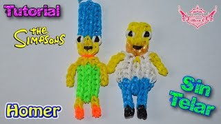 ♥ Tutorial: Homer Simpson de gomitas (sin telar) ♥