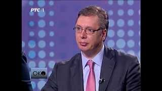 "Vučić: ""Nosim tange"""