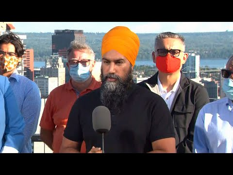 Sept. 6: Singh promises paid sick leave, universal childcare