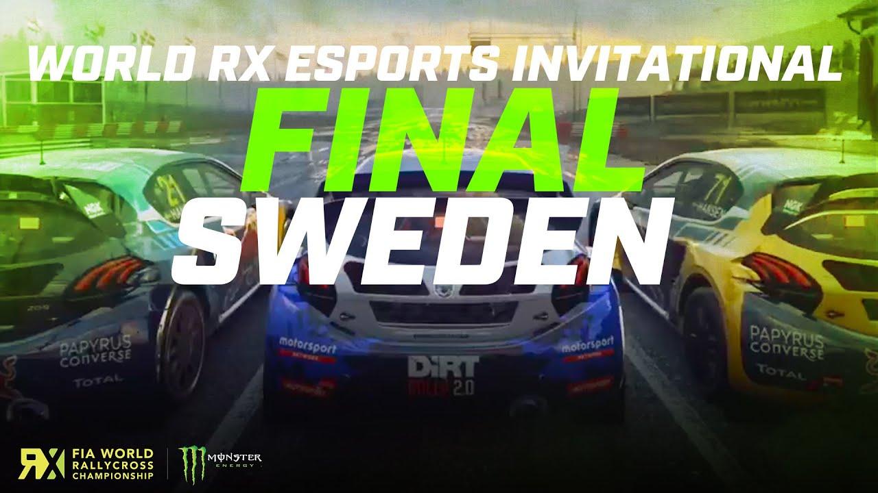 World RX Esports Series Sweden FINAL | FIA World Rallycross