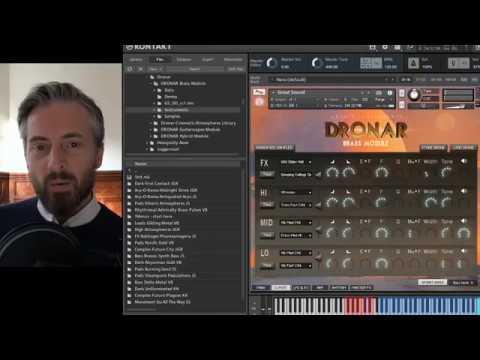 Gothic Instruments DRONAR Brass – Walkthrough with Dan Graham