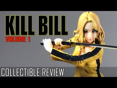 Kill Bill The Bride Bishoujo Statue Unboxing And Review