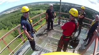 High Angle Rescue Training By Firewise - Barrie, Ontario, Canada