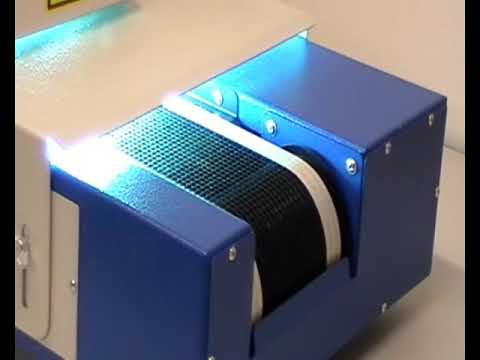 Benchtop Uv Curing Conveyor Dymax Uvc5 Youtube