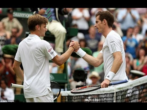 Andy Murray VS David Goffin Highlight (Wimbledon) 2014 R1