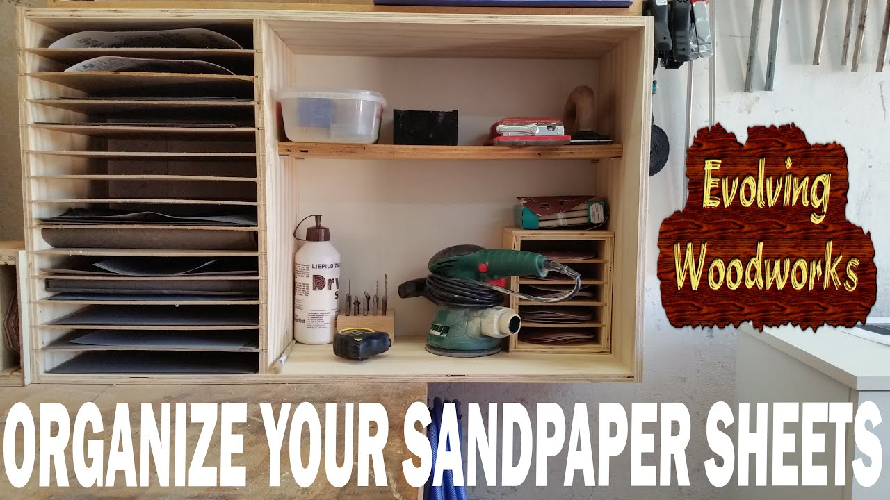 Sandpaper storage cabinet  YouTube
