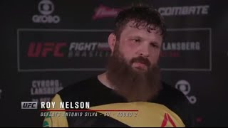 Fight Night Brasilia: Roy Nelson Backstage Interview