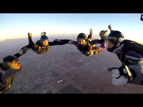 Emma's 100th Skydive At Perris 30th Dec 2015