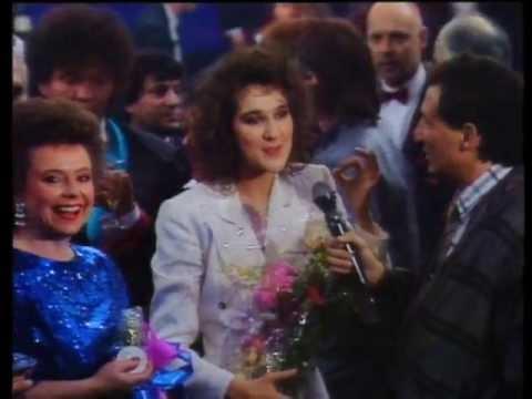 Céline Dion siegt für die Schweiz am ESC (1988) | SRF Archiv