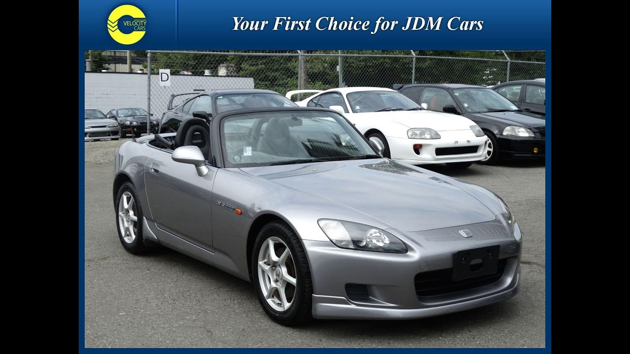 1999 Honda S2000 For Sale In Vancouver BC Canada