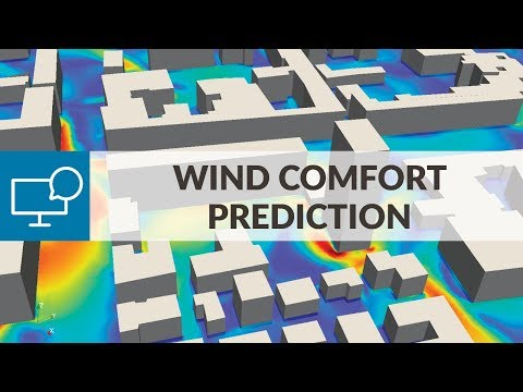 CFD Simulation for AEC Applications - Session 1: Wind Comfort Prediction with CFD