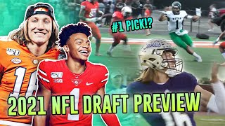 2021 NFL Draft Preview! Trevor Lawrence, Justin Fields & MORE! Who Gets Taken With The First Pick!?