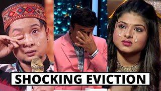 Shocking Elimination of indian idol 12 24 July 2021 - Today Episode - Pawandeep Rajan, Arunita kanji