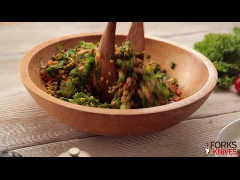 Couscous Kale Salad   Forks Over Knives