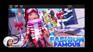 Pretend Play Fashion Famous Roblox | Wow! I love pink! How many stars will Daena gets?