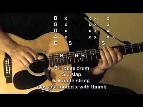 HipHop/R&B Guitar Lesson #5 - Maria Maria - Part 1