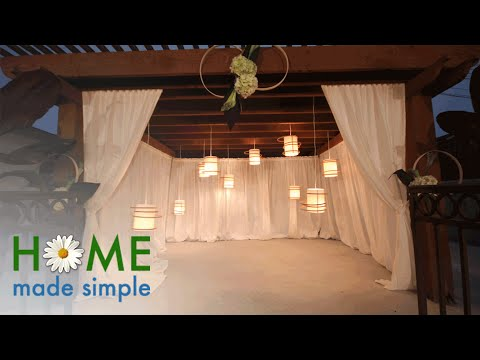 Make Stunning Wedding Lanterns in Less Than an Hour | Home Made Simple | OWN