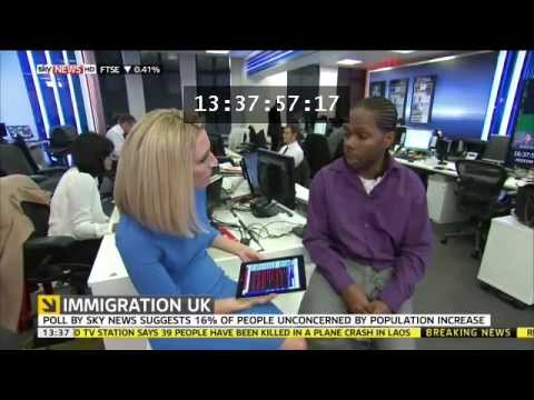 British Nationals not allowed to remain in Britain. UK Immigration debate 2013 & Brexit