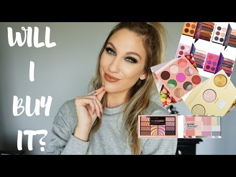WILL I BUY IT? │ COLOURED RAINE, JUVIAS PLACE, MAYBELLINE & LAURA GELLER