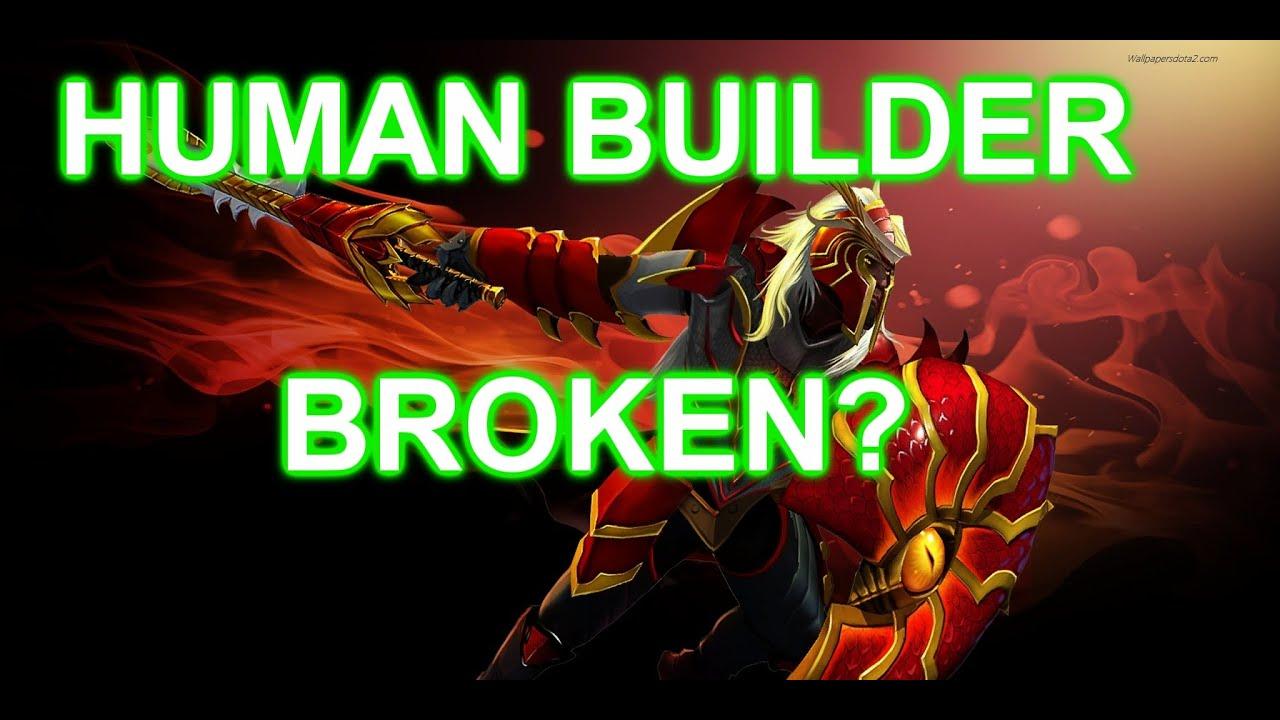 LEGION TD | HUMAN BUILDER OP?! | DOTA 2 REBORN | NERV PLS