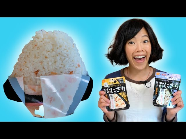 Magic INSTANT Onigiri that SHAPE THEMSELVES into Triangles - Japanese Rice Balls for the APOCALYPSE