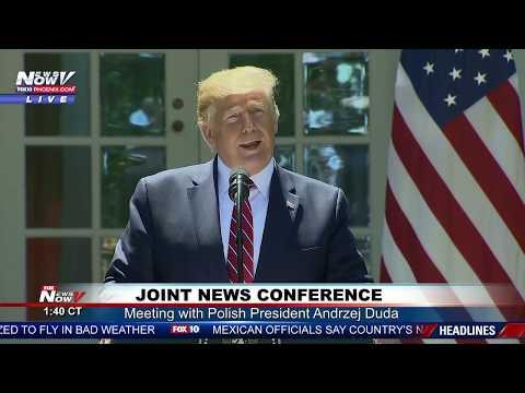 FULL NEWSER: President Trump and Polish President Andrzej Duda at the White House